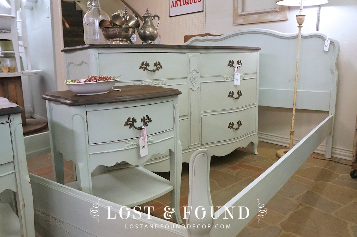 - French Provincial Bedroom Set Reveal Lost & Found