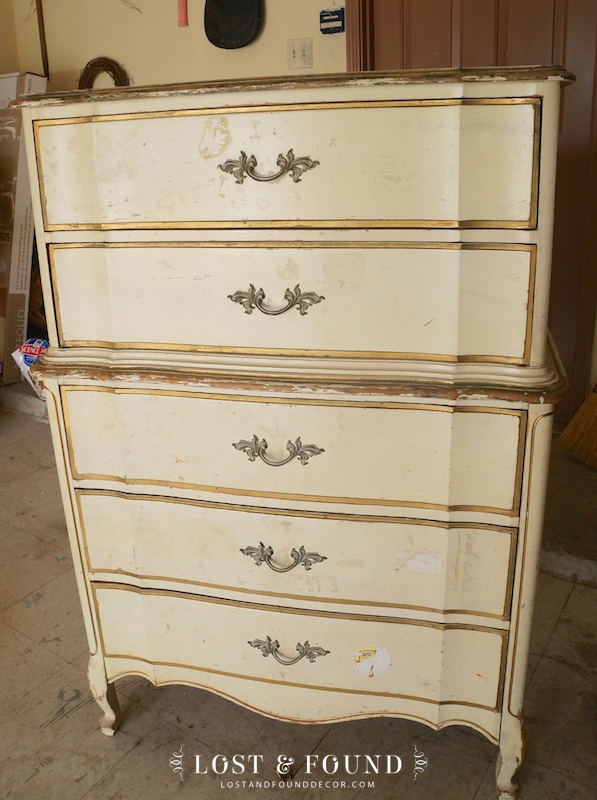 Gentil Dixie Chest On Chest Furniture Makeover With Chalk Paint