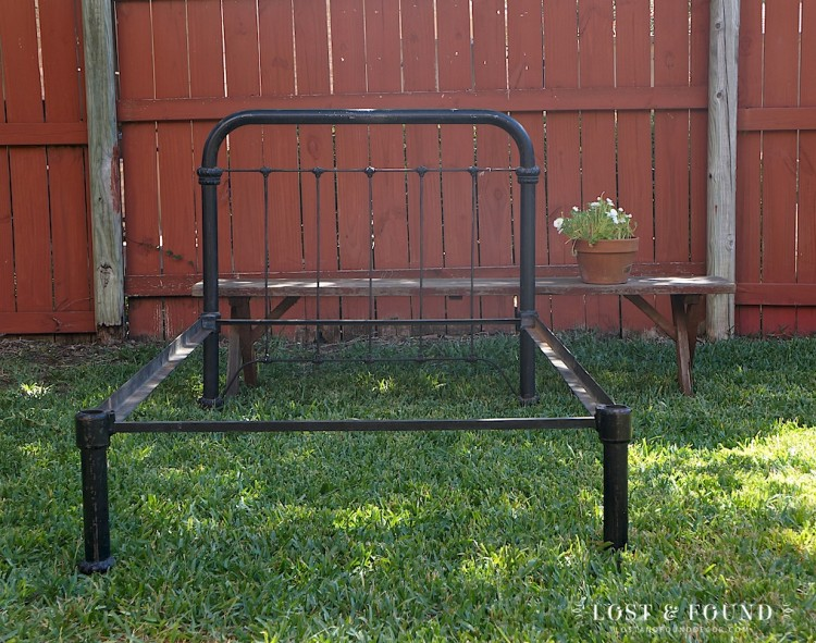 The Beauty of an Antique Iron Bed Frame Lost Found
