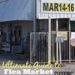 how to shop at flea markets
