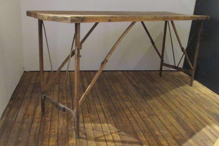 antique wallpaper table