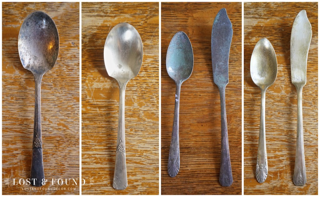 How to Remove Tarnish from old Silerware