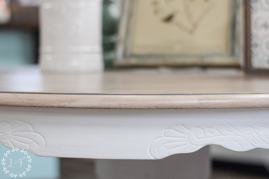 How to Get a Weathered Wood Look on Your Kitchen Table Top Using Paint & Stain