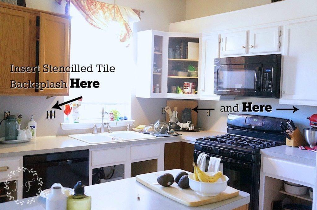 Kitchen Tile Backsplash 1