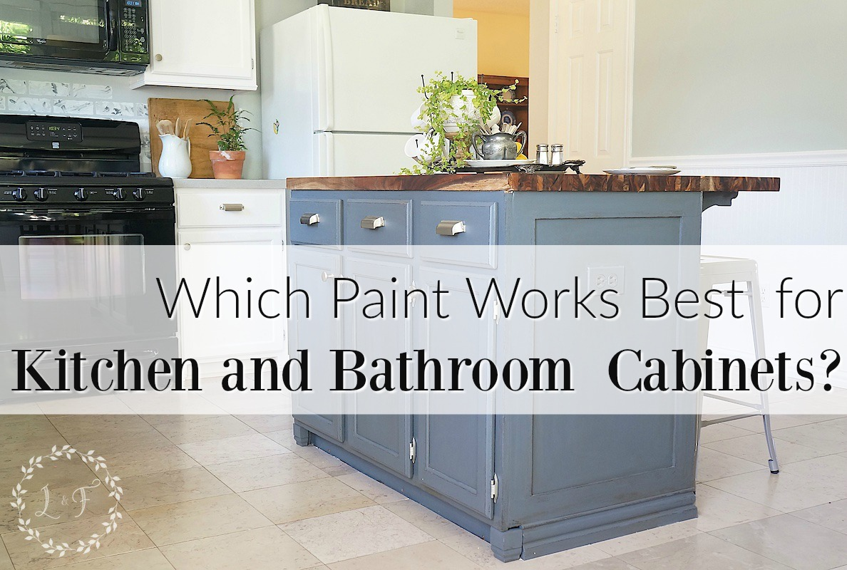what kind of paint to paint kitchen cabinets which is it best paint use kitchen bath cabinets 28325