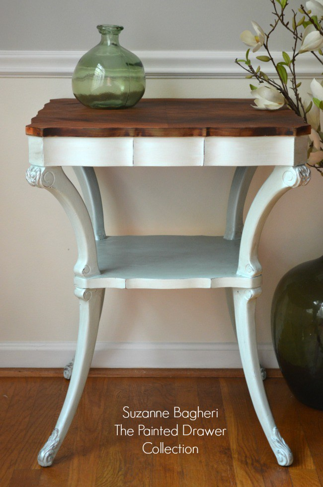 Vintage-Table-painted-in-Icicle-Blue