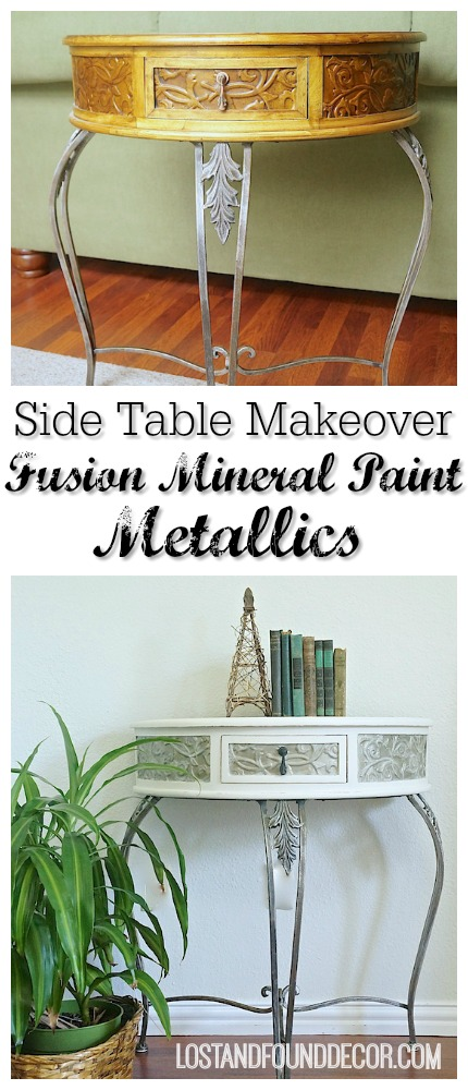 Painted Furniture with Metallic Paint