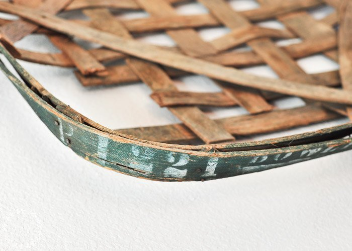 "Antique Tobacco Baskets and Being the ""Real"" You"