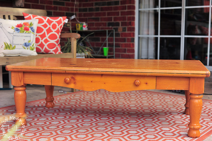 Astonishing Pine Coffee Table Makeover Farmhouse Style Lost Found Camellatalisay Diy Chair Ideas Camellatalisaycom
