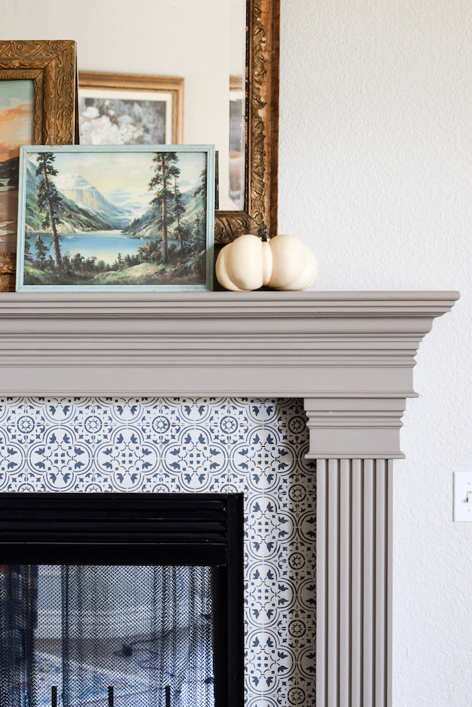 How to Update Your Fireplace with Paint